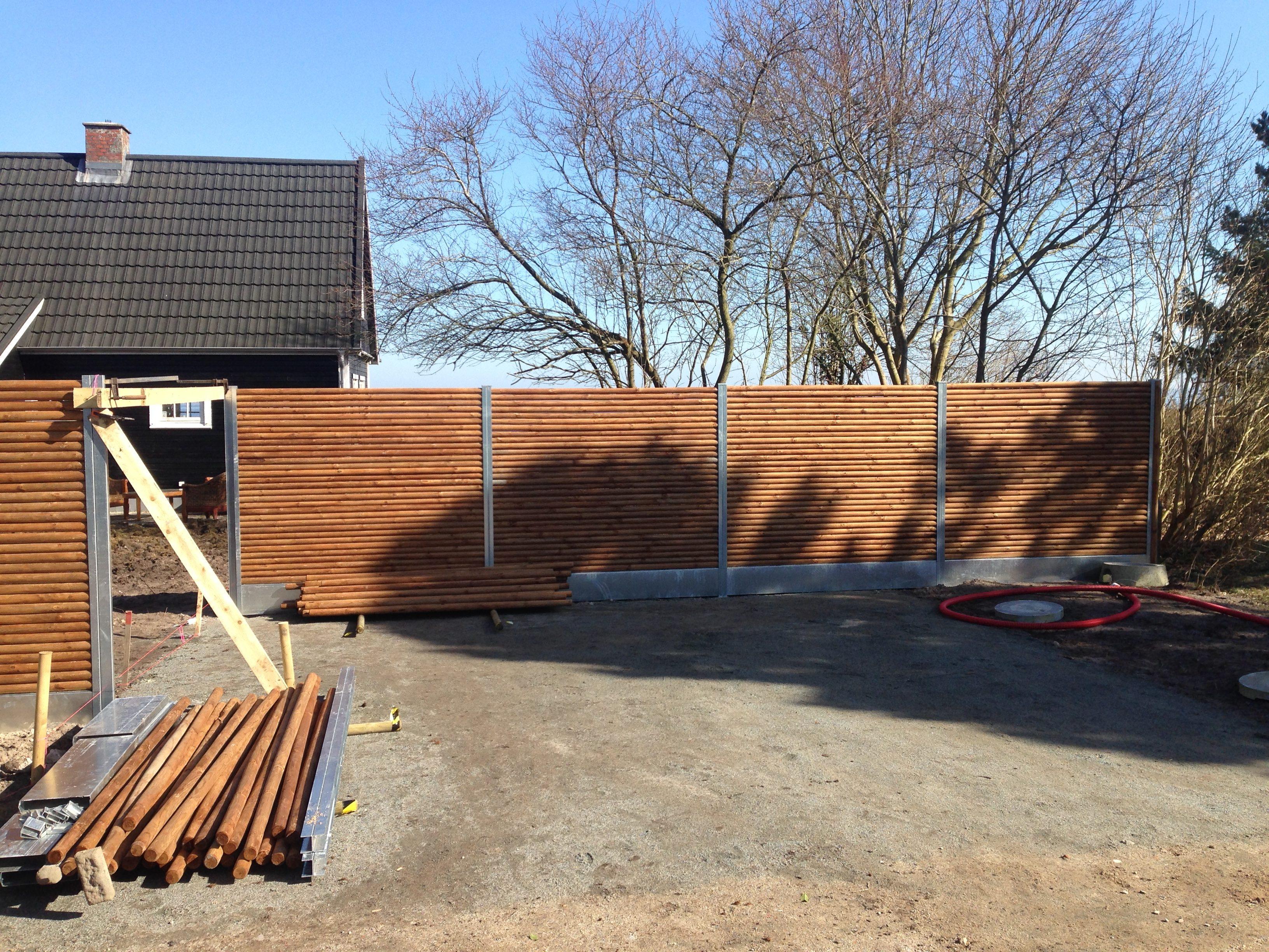 DR Tømrermester – etablering af havehegn 8
