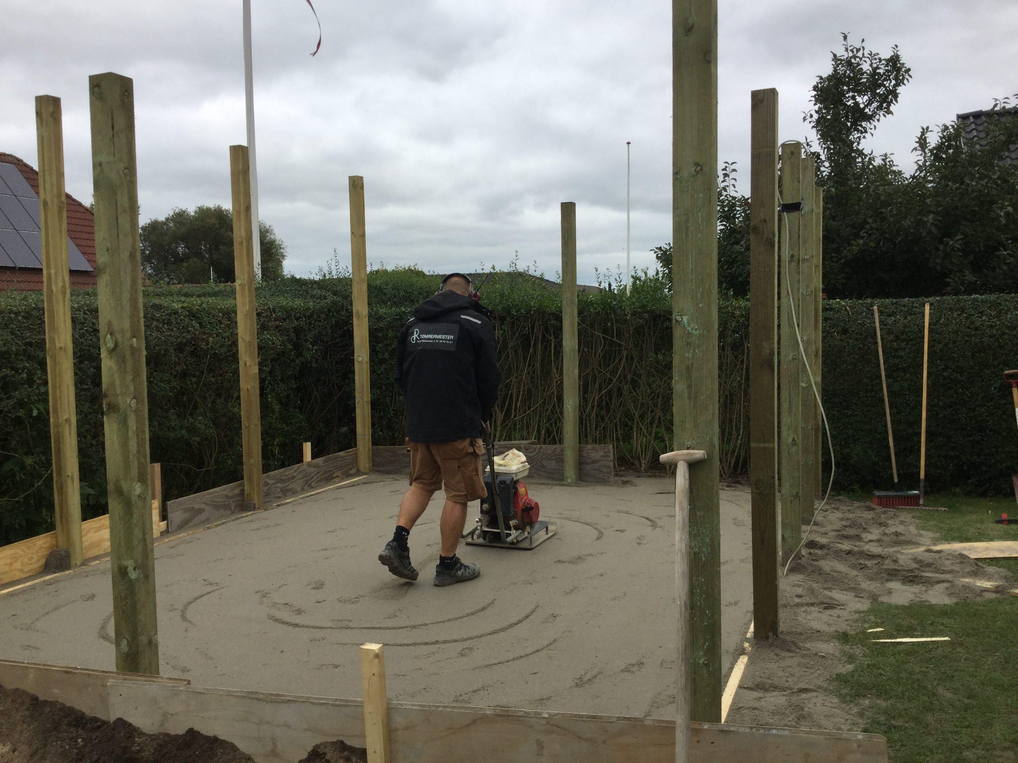 DR Tømrermester – isoleret haveskur 1
