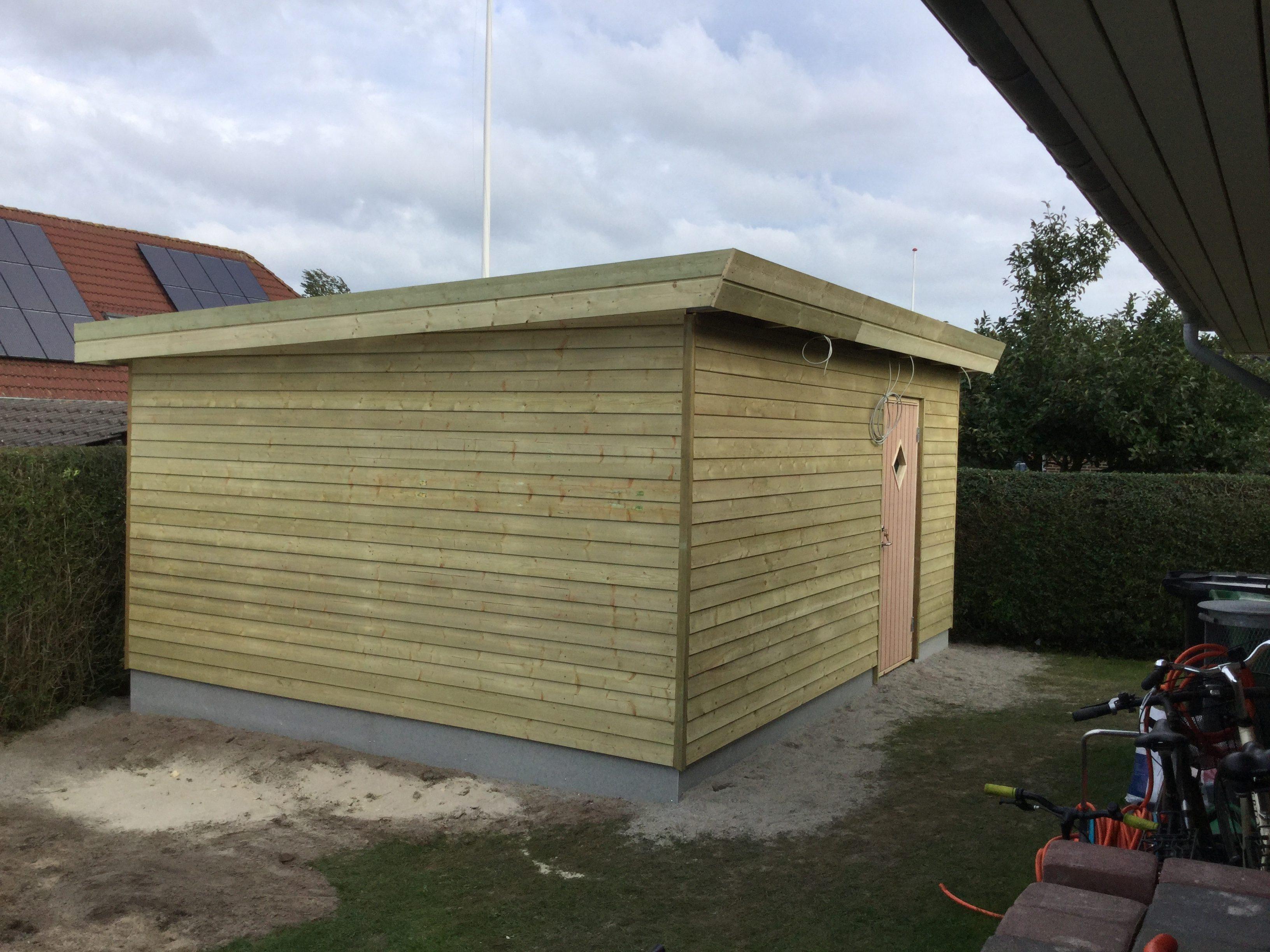 DR Tømrermester – isoleret haveskur 7