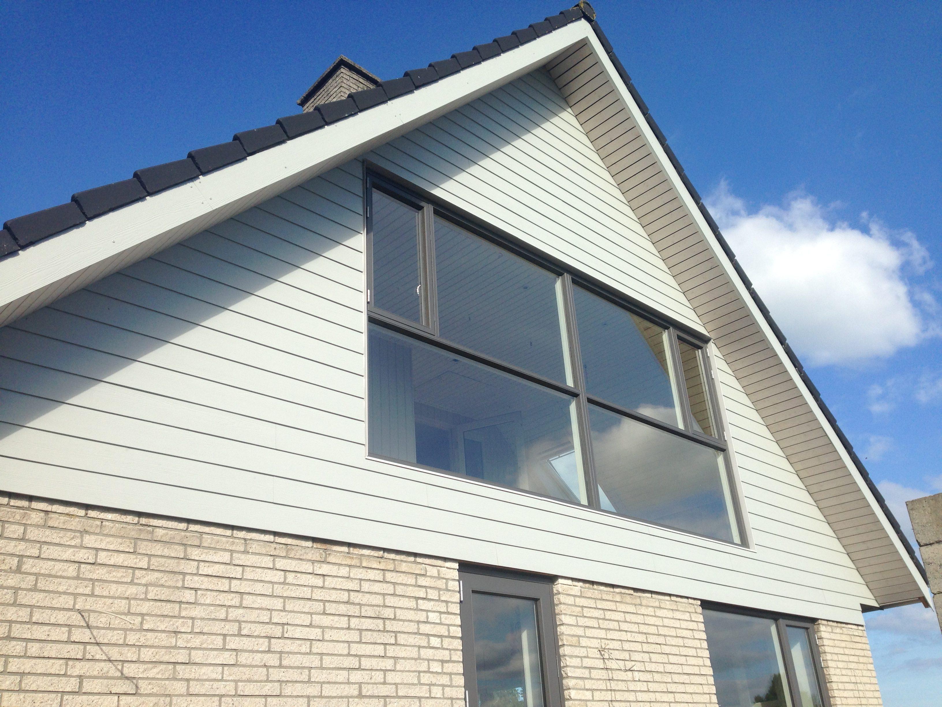 DR Tømrermester – ny gavl og vinduesparti