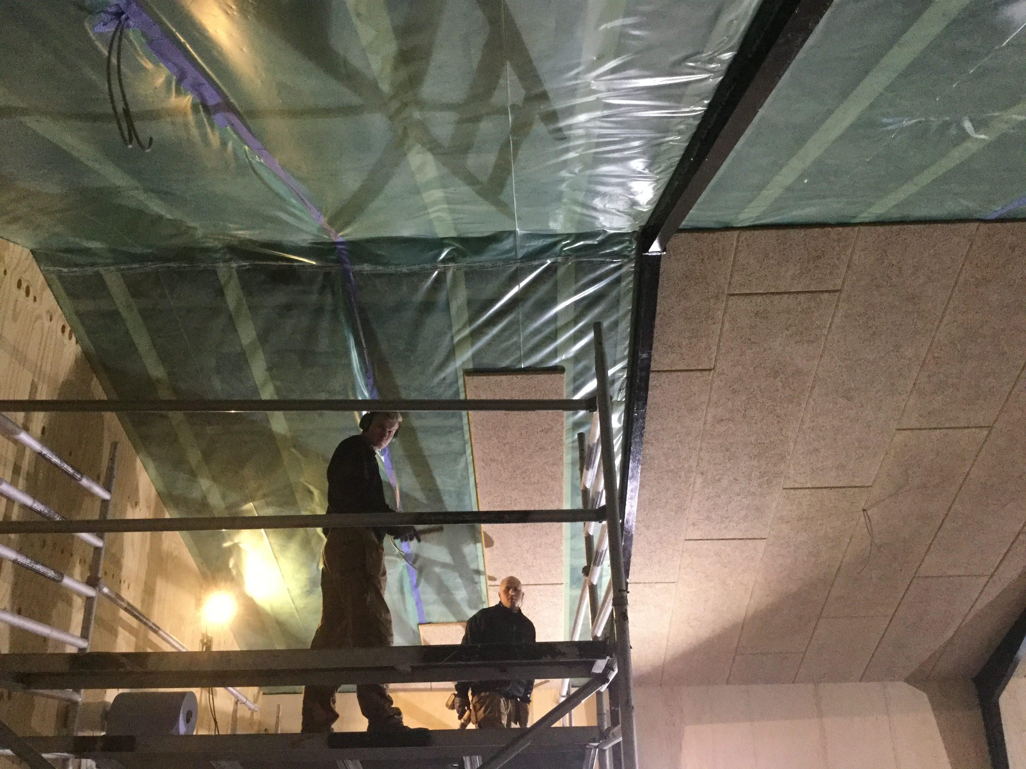 DR Tømrermester – nyt loft på værksted 3