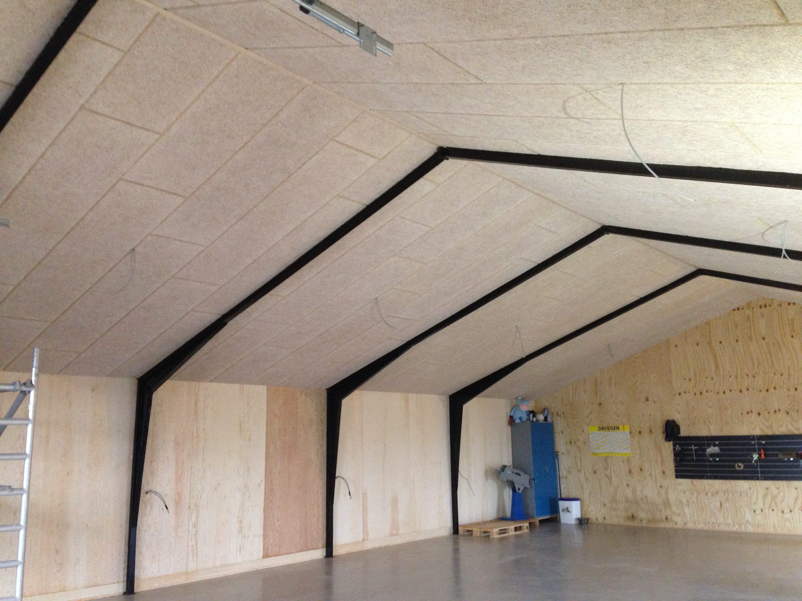 DR Tømrermester – nyt loft på værksted 5