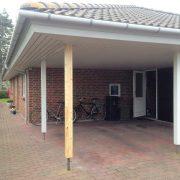 DR Tømrermester – udskiftning af stolpe