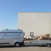 DR Tømrermester – aflevering af plader Exhausto