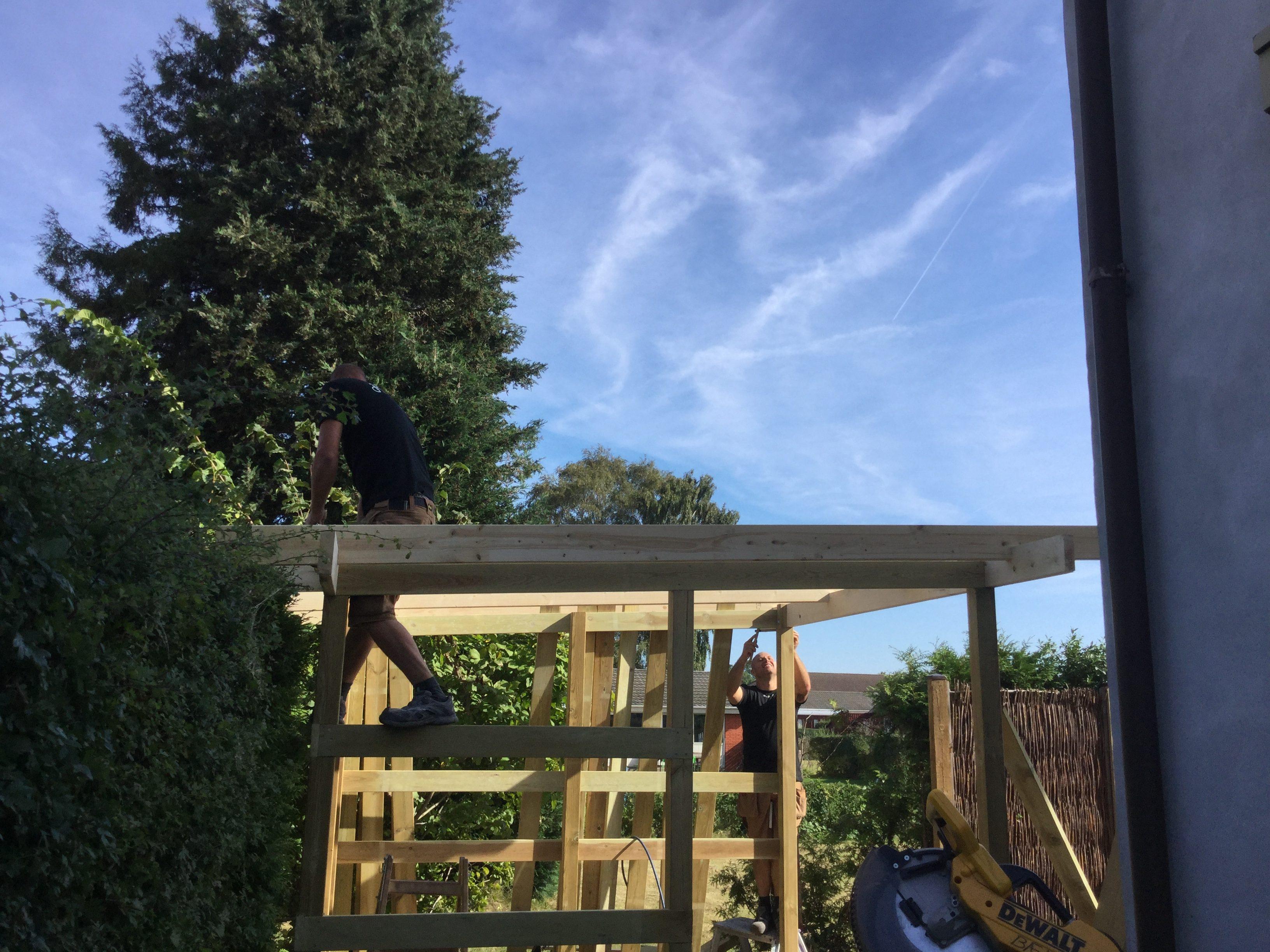 DR Tømrermester – overdækket terrasse 2