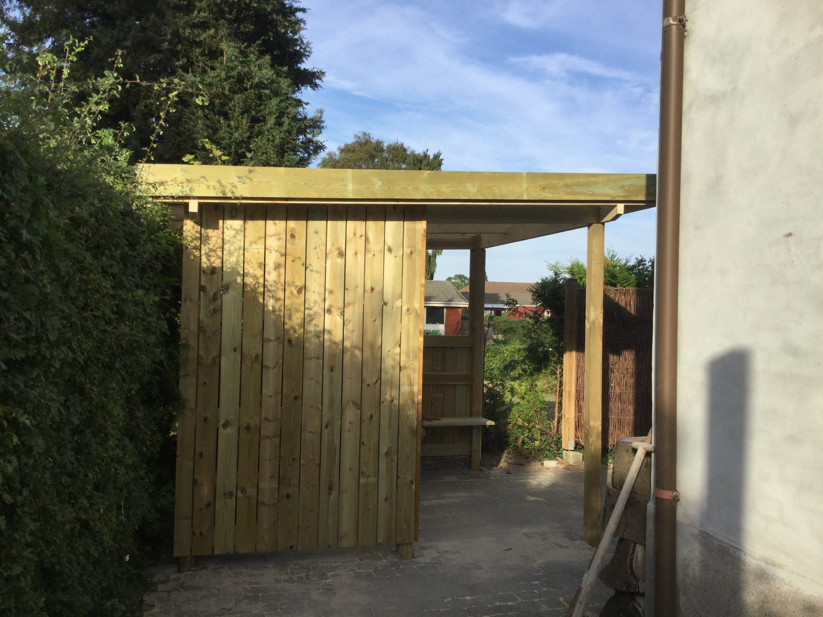 DR Tømrermester – overdækket terrasse 3