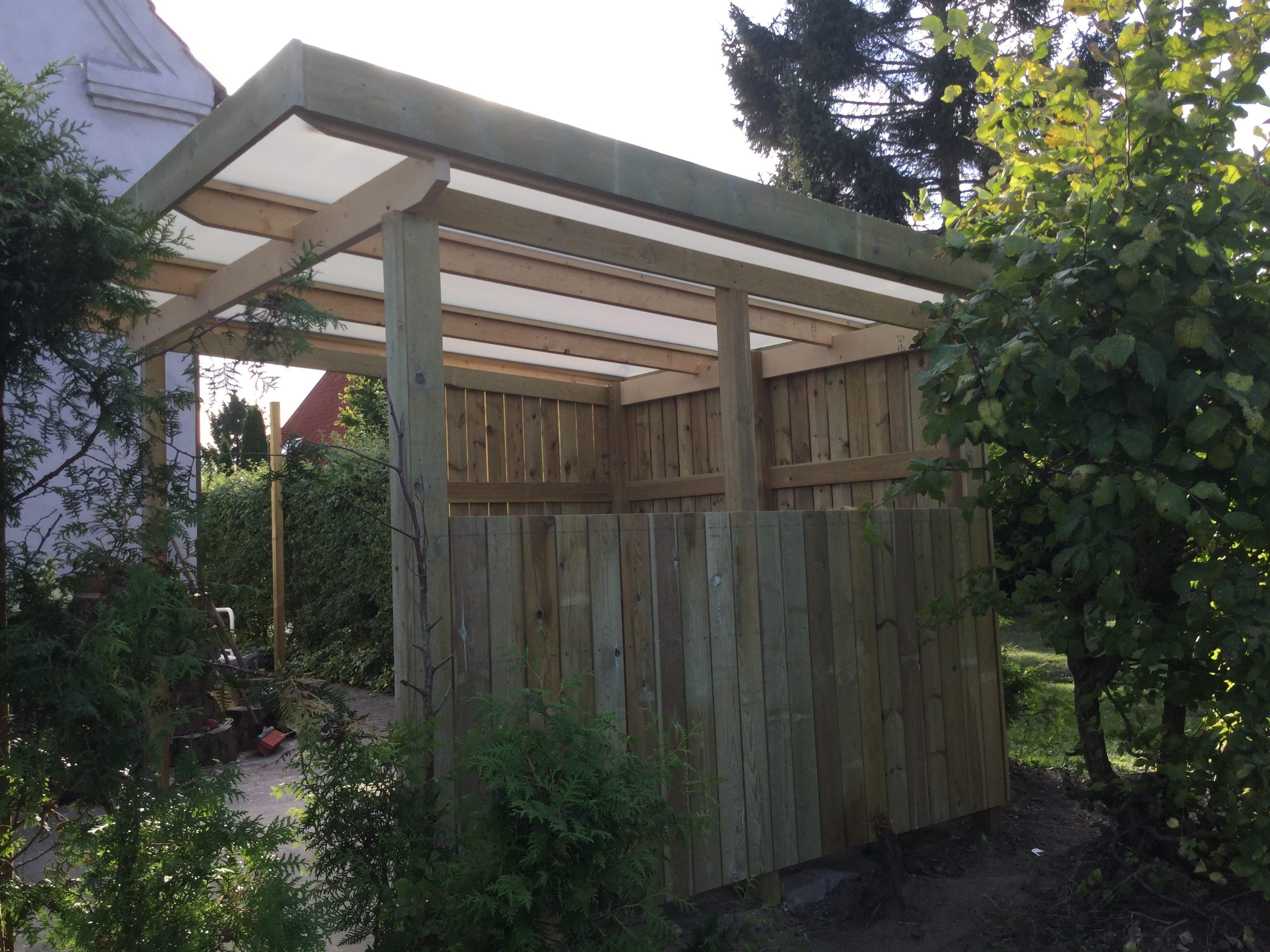 DR Tømrermester – overdækket terrasse 5